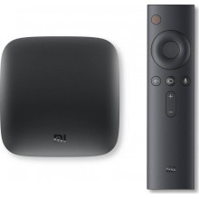 Xiaomi Mi TV Box 4K ULTRA HD Android TV Μαύρο With Adaptor