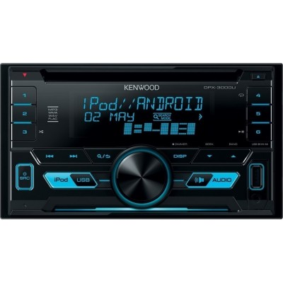 Kenwood Car HiFi DPX 3000U blue EU