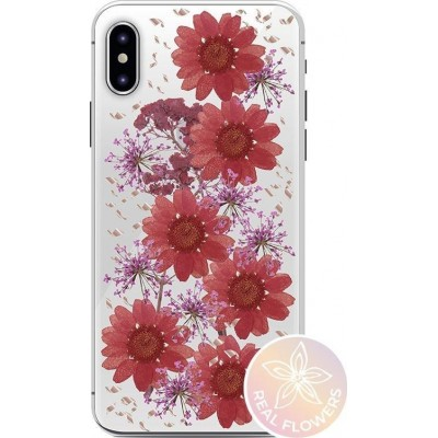 PURO Glam Hippie Chic Cover iPhone XS Max (real flower petals green)