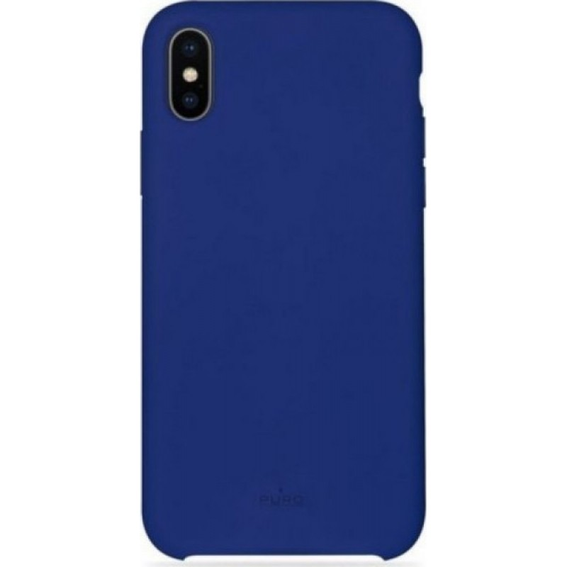 Puro Icon Back Case για iPhone XS Max IPCX65ICONDKBLUE BLUE