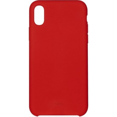 Puro Icon Back Case for iPhone XS Max IPCX65ICONRED RED