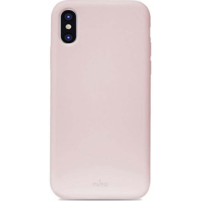 Puro Icon Back Case for iPhone XS Max IPCX65ICONROSE ROSE