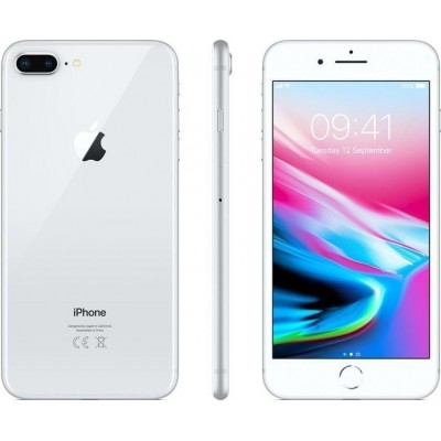 Apple iPhone 8 Plus 4G 64GB Silver refurbished Class A