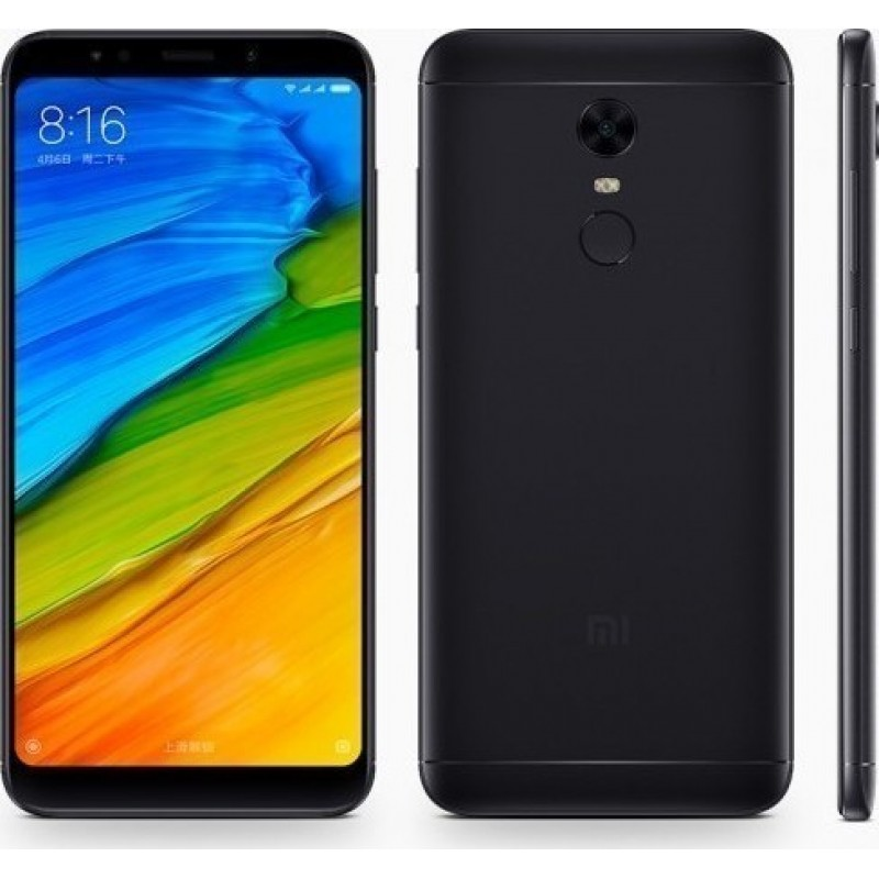 Xiaomi Redmi 5 Plus (4GB/64GB) Dual Sim Black (Global Version)