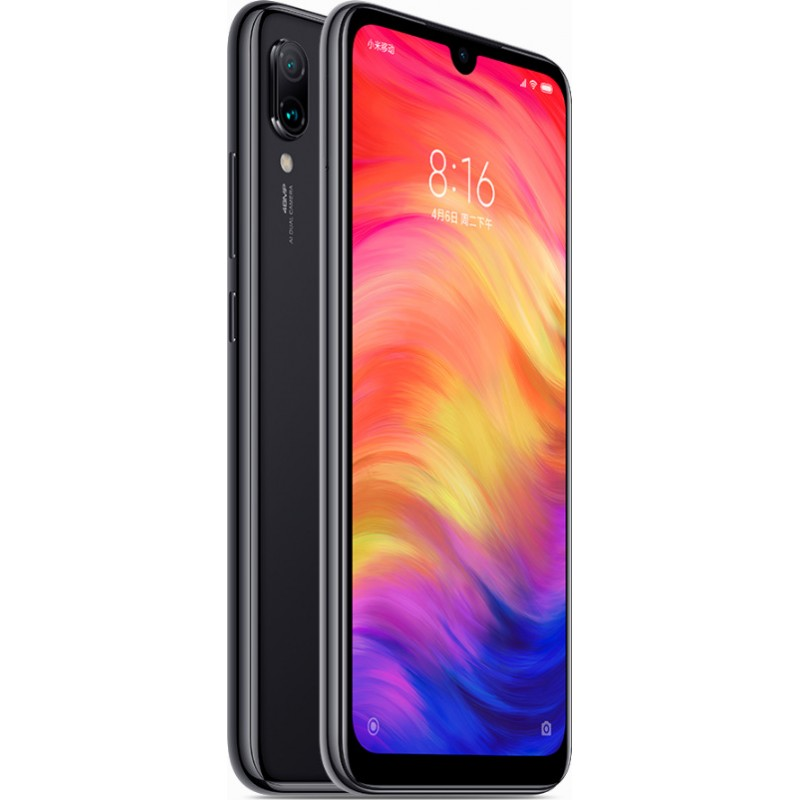 XIAOMI REDMI NOTE 7 64GB 4GB RAM DUAL SIM BLACK