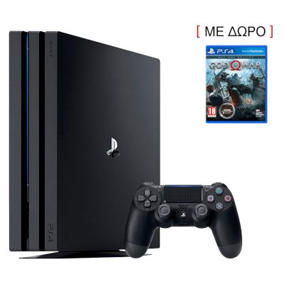 Sony Playstation 4 Pro 1 TB Black + God Of War