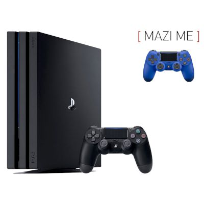 Sony Playstation 4 Pro 1 TB + 2nd Dualshock Blue